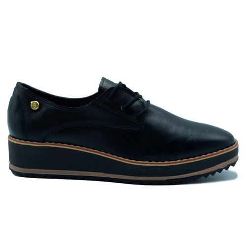 MOCASIN PARA MUJER LUCY NEGRO